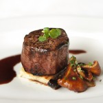 Petite Filet and Chanterelles